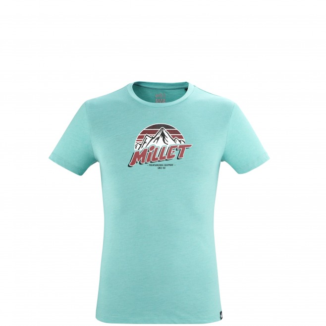 Tee-Shirt manches courtes - Homme - Bleu LIMITED COLORS TS SS M Millet