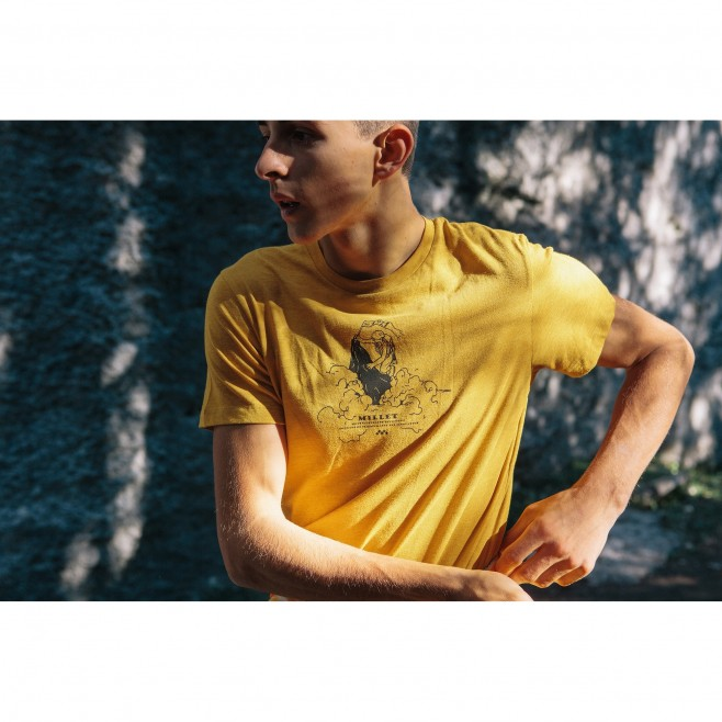Tee-Shirt manches courtes - Homme - Marron LIMITED COLORS TS SS M Millet 3