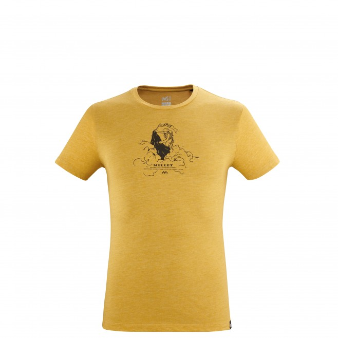 Tee-Shirt manches courtes - Homme - Marron LIMITED COLORS TS SS M Millet