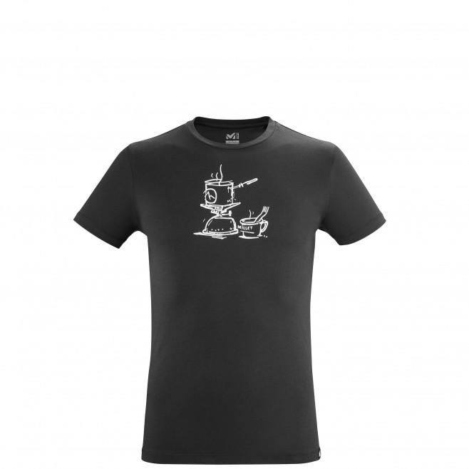 Tee-Shirt manches courtes - Homme - Noir CAMP TS SS M Millet