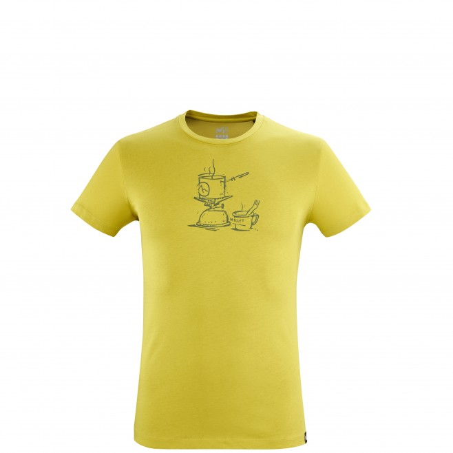 Tee-Shirt manches courtes - Homme - Vert CAMP TS SS M Millet