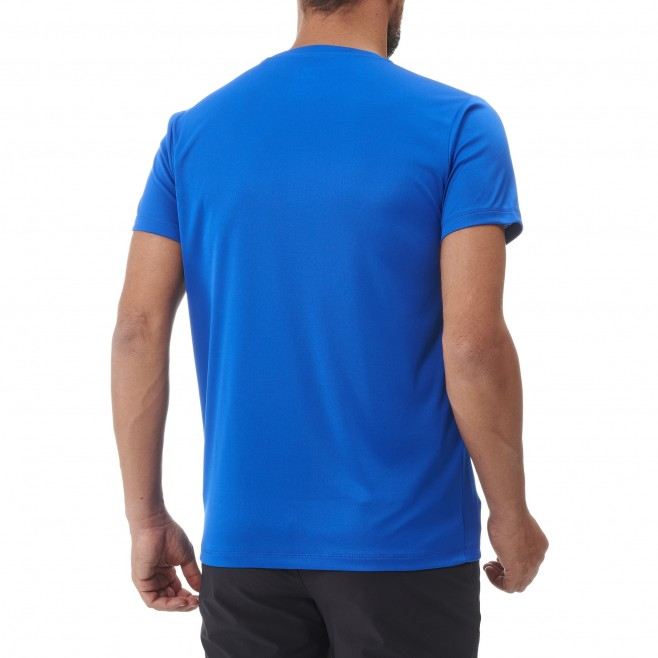 Tee-Shirt manches courtes - Homme - Bleu DREAMY PEAKS TS SS M Millet 3