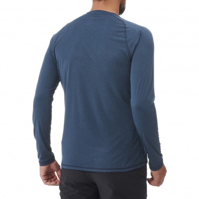 Tee-Shirt manches longues - Homme - Bleu marine TRACK FINDER TS LS M Millet 3