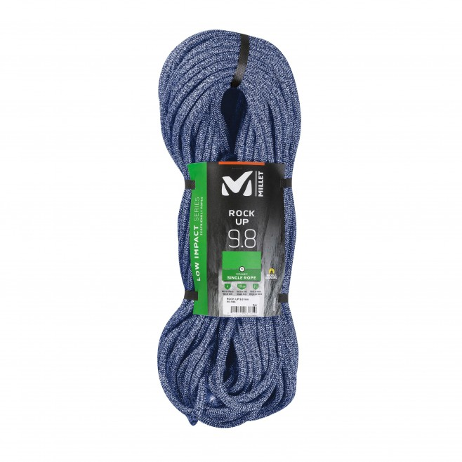 Corde a simple - Bleu ROCK UP 9,8mm 80m Millet