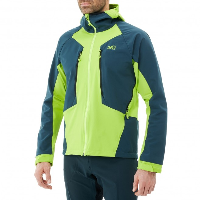 Veste softshell - homme - bleu marine TOURING SHIELD EXTREME HOODIE M Millet 3