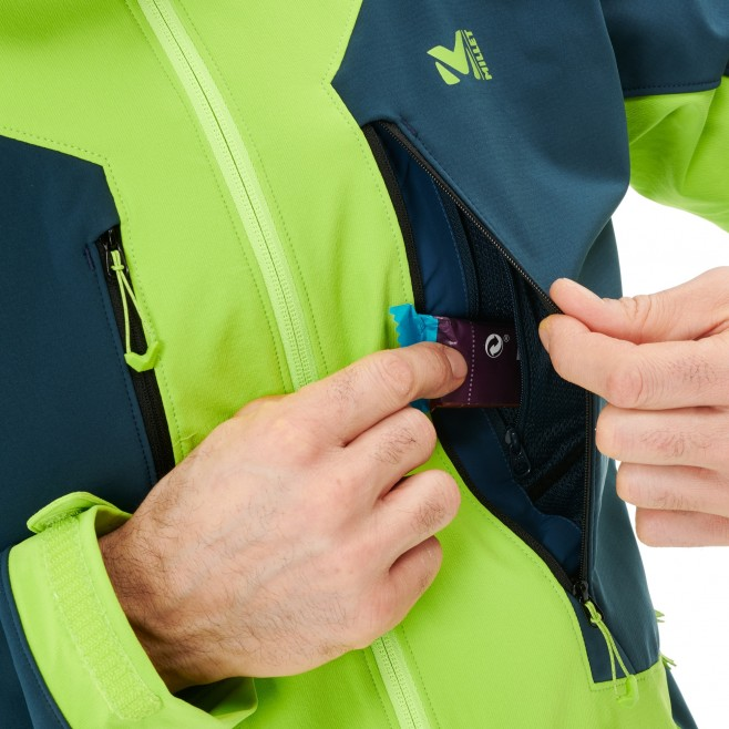 Veste softshell - homme - bleu marine TOURING SHIELD EXTREME HOODIE M Millet 6