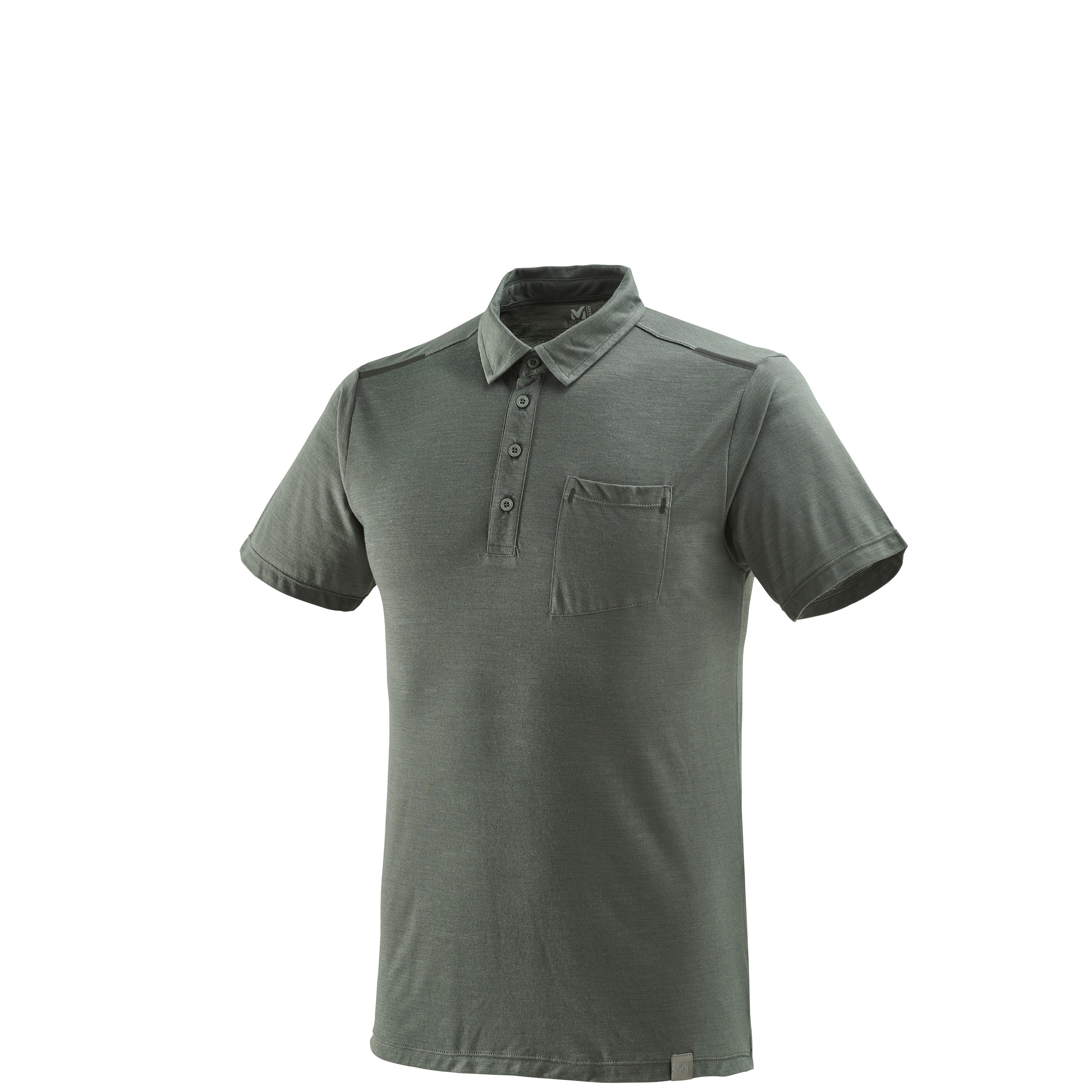 Imja Wool Polo Castle Gray
