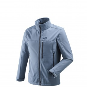 Track Jkt M Teal Blue Millet France