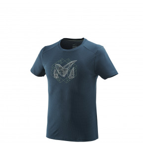 M Logo 2 Ts Ss Orion Blue Millet France