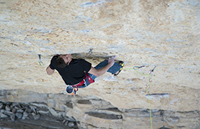 Matty Hong réalise 3 voies en 9A à Rifle, au Colorado