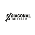 Porte skis diagonal