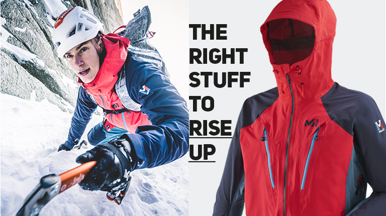 The right stuff to rise up