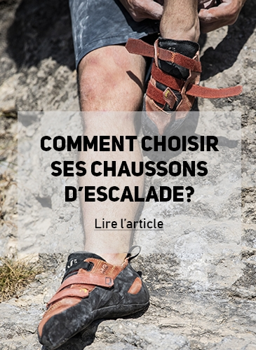 chaussons d'escalade