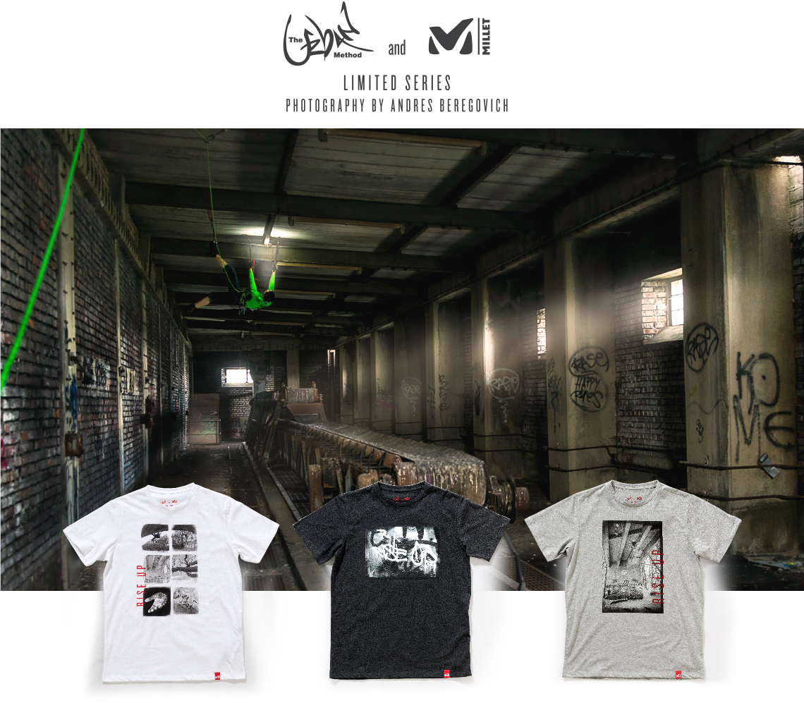 Limited edition Millet T-shirts by Andres Beregovitch
