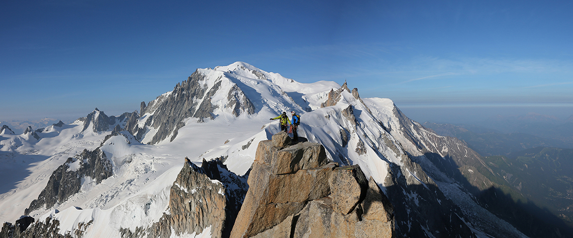Professionnels outdoor montagne
